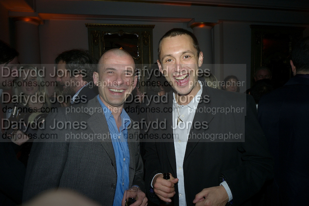 GIGI GIANUZZI AND DAN MACMILLAN, TOD'S Art Plus Film Party 2008. Party to raise funds for the Whitechapel art Gallery.  One Marylebone Road, London NW1, 6 March, 8.30 - late<br /> *** Local Caption *** -DO NOT ARCHIVE-&copy; Copyright Photograph by Dafydd Jones. 248 Clapham Rd. London SW9 0PZ. Tel 0207 820 0771. www.dafjones.com.