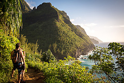 The Kalalau Trail, Na Pali Coast, Kauai