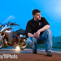 Bob Farley/F8photo.org -- Motus  poresident Lee Conn