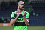 Forest Green Rovers Farrend Rawson(6) during the EFL Sky Bet League 2 match between Forest Green Rovers and Yeovil Town at the New Lawn, Forest Green, United Kingdom on 16 February 2019.