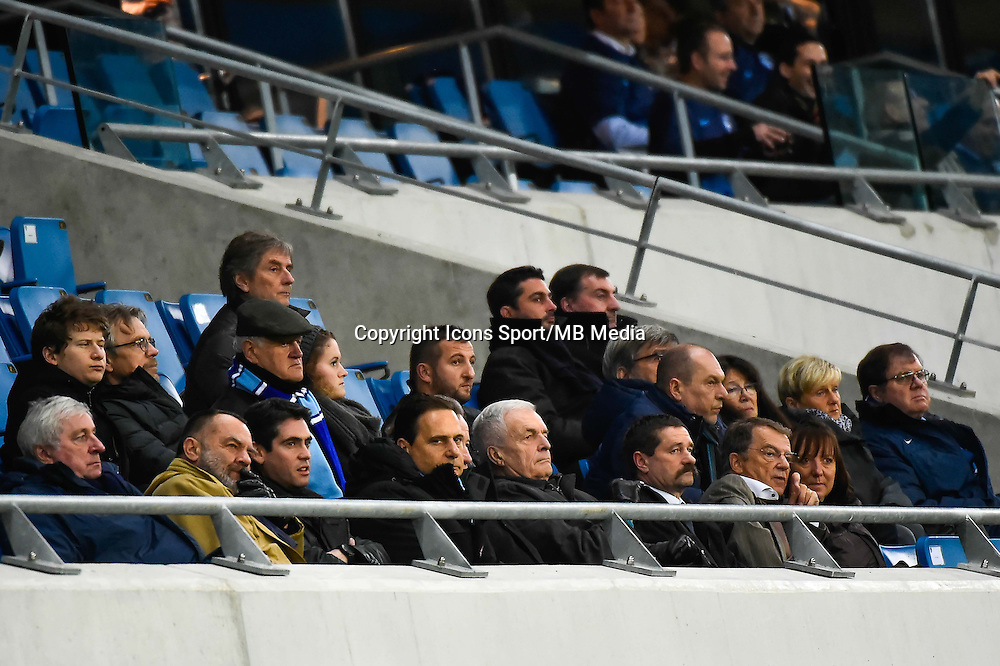 Eric BESSON  - 12.12.2014 - Le Havre / Laval - 17eme journee de Ligue 2 <br /> Photo : Fred Porcu / Icon Sport