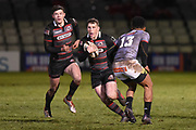 Mark Bennett's first game back for Edinburgh during the Guinness Pro 14 2017_18 match between Edinburgh Rugby and Southern Kings at Myreside Stadium, Edinburgh, Scotland on 5 January 2018. Photo by Kevin Murray.