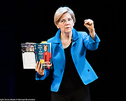 U.S. Senator Elizabeth Warren at Town Hall in New York City, New York on June 16, 2017.
