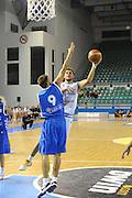 CIPRO 05 AGOSTO 2011<br /> BASKET FIP<br /> NAZIONALE ITALIANA PALLACANESTRO<br /> ITALIA GRECIA<br /> NELLA FOTO MANCINELLI<br /> FOTO CIAMILLO