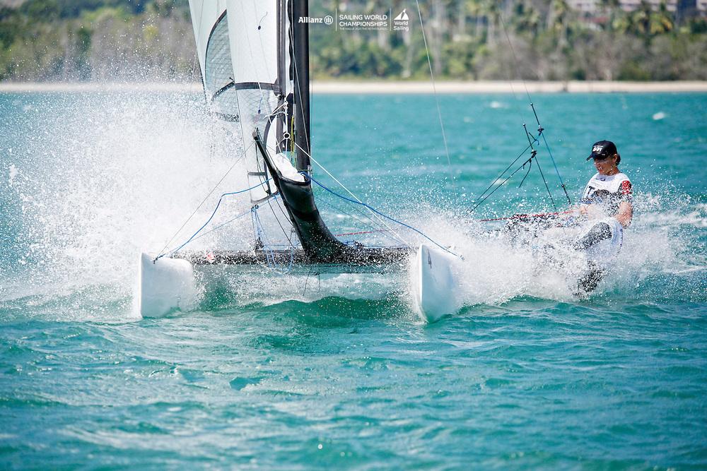ItalySirena SL16OpenCrewITAMG142MariaGiubilei<br />ItalySirena SL16OpenHelmITAGU1GianluigiUgolini<br />Day4, 2015 Youth Sailing World Championships,<br />Langkawi, Malaysia