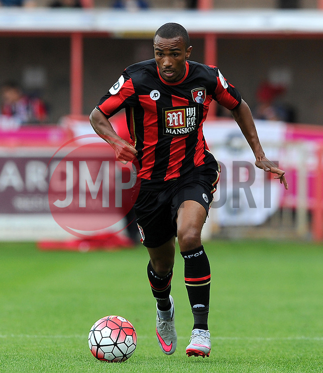 Bournemouth's Junior Stanislas - Photo mandatory by-line: Harry Trump/JMP - Mobile: 07966 386802 - 18/07/15 - SPORT - FOOTBALL - Pre Season Fixture - Exeter City v Bournemouth - St James Park, Exeter, England.