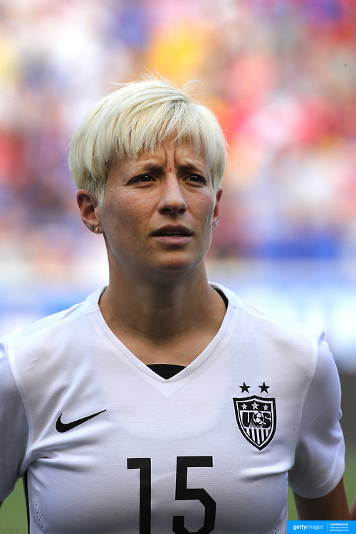 Megan Rapinoe, U.S. Women's National Team, during the U.S. Women's National Team Vs Korean Republic, International Soccer Friendly in preparation for the FIFA Women's World Cup Canada 2015. Red Bull Arena, Harrison, New Jersey. USA. 30th May 2015. Photo Tim Clayton