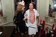 PHILIP SALLON, Philip Sallon's mass paranoia swine flu birthday party. Home House. Portman Sq. London. 13 November 2009.