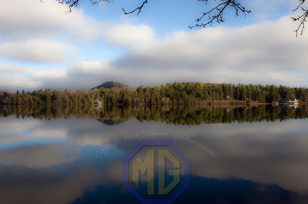 22 November 2009:  General scenes around Mirror Lake at  Lake Placid, NY on November 22, 2009.