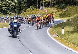 08.07.2019, Wiener Neustadt, AUT, Ö-Tour, Österreich Radrundfahrt, 2. Etappe, von Zwettl nach Wiener Neustadt (176,9 km), im Bild Peloton // Peloton during 2nd stage from Zwettl to Wiener Neustadt (176,9 km) of the 2019 Tour of Austria. Wiener Neustadt, Austria on 2019/07/08. EXPA Pictures © 2019, PhotoCredit: EXPA/ JFK