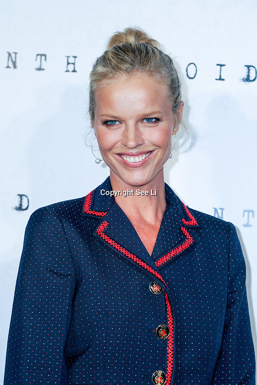 LONDON, ENGLAND - AUGUST 30: Eva Herzigova attend the UK premiere of 'Anthropoid' at BFI Southbank on August 30, 2016 in London, England. (Photo by See Li/Picture Capital)
