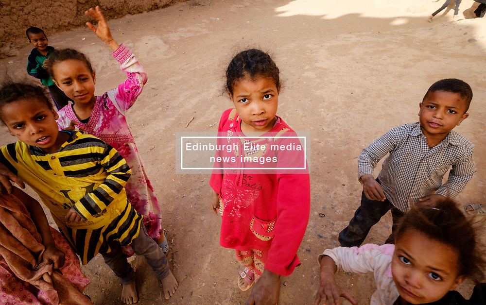 Children in a small village in southern Morocco near Mhamid<br /> <br /> (c) Andrew Wilson | Edinburgh Elite media