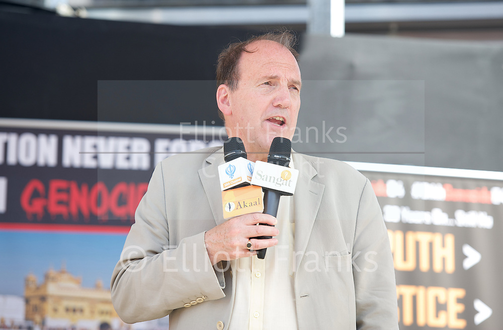 30th Anniversary of Sikh Genocide in 1984 rally <br />