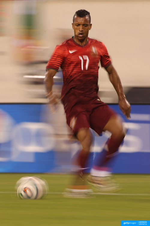 Nani, Portugal, in action during the Portugal V Ireland International Friendly match in preparation for the 2014 FIFA World Cup in Brazil. MetLife Stadium, Rutherford, New Jersey, USA. 10th June 2014. Photo Tim Clayton