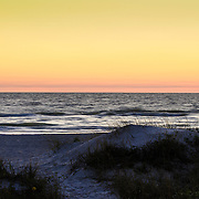 Sunset on Florida's Gulf Of Mexico
