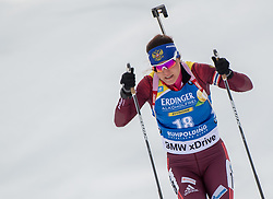 11.01.2018, Chiemgau Arena, Ruhpolding, GER, IBU Weltcup Biathlon, Ruhpolding, Einzel, Damen, im Bild Tatiana AKIMOVA (RUS) // during Ladies Individual of BMW IBU Biathlon World Cup at the Chiemgau Arena in Ruhpolding, Germany on 2018/01/11. EXPA Pictures © 2018, PhotoCredit: EXPA/ Ernst Wukits