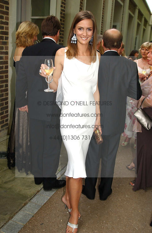 MISS SHELLEY ROSS at the Game Conservancy Jubilee Ball in aid of the Game Conservancy Trust held at The Hurlingham Club, London SW6 on 26th May 2005<br />