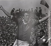 Jimmy Barry Murphy celebrates against Limerick in the 1983 Munster-Semifinal.