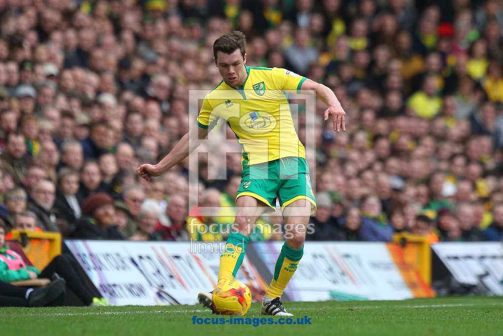 Jonny Howson of Norwich in action during the Sky Bet Championship match at Carrow Road, Norwich<br /> Picture by Paul Chesterton/Focus Images Ltd +44 7904 640267<br /> 26/02/2017
