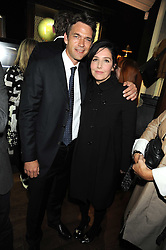 DOUGRAY SCOTT and SHARLEEN SPITERI at a party to celebrate the opening of the new home of Alfred Dunhill at Bourdon House, 2 Davies Street, London on 16th September 2008.