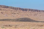 Negev Desert Landscape. Photographed at the Ramon Crater, Negev, Israel