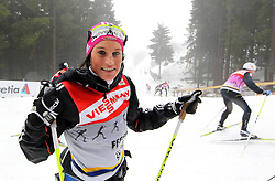 28.12.2011, DKB-Ski-ARENA, Oberhof, GER, Viessmann FIS Tour de Ski 2011, Training, im Bild Nicole Fessel (GER) im Training . during of Viessmann FIS Tour de Ski 2011, in Oberhof, GERMANY, 2011/12/28. EXPA Pictures © 2011, PhotoCredit: EXPA/ nph/ Hessland..***** ATTENTION - OUT OF GER, CRO *****