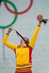 2012 Olympic Games London / Weymouth<br /> RSX Medal Ceremonies<br /> Alabau Marina, (ESP, RS:X Women)