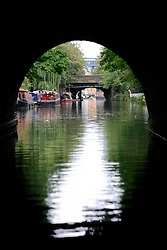 UK ENGLAND LONDON 12AUG07 - View from inside the Islington Tunnel on the Regency Canal, viewed from the bow of a canal boat...jre/Photo by Jiri Rezac..© Jiri Rezac 2007..Contact: +44 (0) 7050 110 417.Mobile:  +44 (0) 7801 337 683.Office:  +44 (0) 20 8968 9635..Email:   jiri@jirirezac.com.Web:    www.jirirezac.com..© All images Jiri Rezac 2007 - All rights reserved.