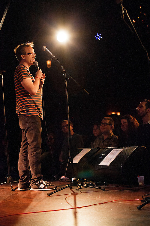 Chris Gethard - Tom Scharpling and Ted Leo Present a Very Special Hurricane Benefit Show - December 7, 2012 - The Bell House, Brooklyn