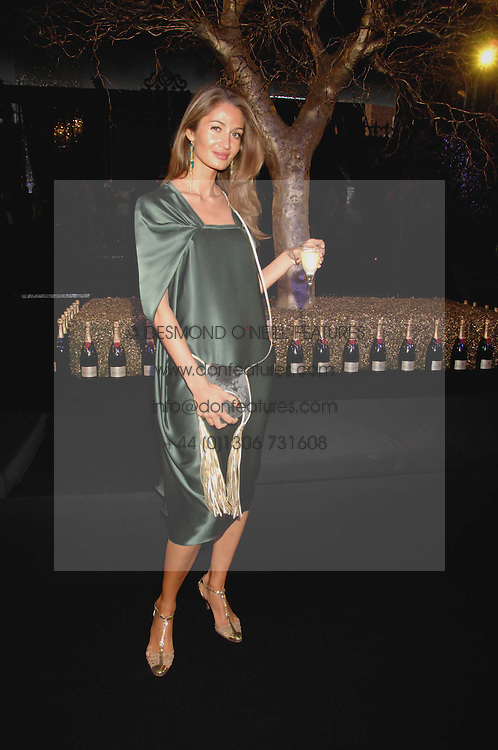 GYUNEL BOATENG at the Moet Mirage Evening at Holland Park Opera House, London W8 on 16th September 2007.<br /><br />NON EXCLUSIVE - WORLD RIGHTS