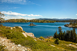 """Long Lake 2"" - Photograph of Long Lake in California's Plumas National Forest."