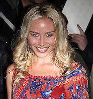 Noelle Reno arrives for the Premiere of 'The Commuter' held at Aqua, London, UK, 25 October 2010: For piQtured Sales contact: Ian@Piqtured.com +44(0)791 626 2580 (picture by Richard Goldschmidt)