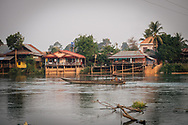 4000 islands Si Phan Don Champasak Southern Laos on the Mekhong River