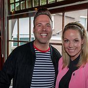 NLD/Netherlands/20190506 - 100%NL Magazine viert 10 Jarig jubileum, Barry Paff en sidekick Patricia van Liempt