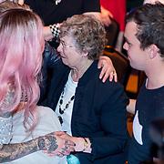 NLD/Baarn/20180410 - 2018 finale 'It Takes 2, Dionne Slagter en haar familie