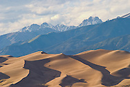 Views from the Great Sand Dunes National Park near Alamosa, Colorado