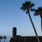 Castillo de San Marcos is the oldest masonry fort in the continental United States built in St. Augustine, the oldest continuously occupied European-established settlement and port in the continental United States. Founded in September 1565 by Spanish admiral Pedro Menéndez de Avilés, serving as the capital of Spanish Florida for two hundred years. <br />