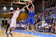 LIGNANO SABBIADORO, 14 LUGLIO 2015<br /> BASKET, EUROPEO MASCHILE UNDER 20<br /> ITALIA-LETTONIA<br /> NELLA FOTO: Simone Fontecchio<br /> FOTO FIBA EUROPE/CASTORIA