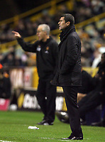 Photo: Rich Eaton.<br /> <br /> Wolverhampton Wanderers v Sunderland. Coca Cola Championship. 24/11/2006. Mick McCarthy, left manager of Wolverhampton Wanderers and Roy Keane, manager of Sunderland pictured at their first meeting as managers