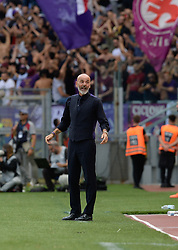 October 7, 2018 - Rome, Italy - Stefano Pioli during the Italian Serie A football match between S.S. Lazio and Fiorentina at the Olympic Stadium in Rome, on october 07, 2018. (Credit Image: © Silvia Lore/NurPhoto/ZUMA Press)