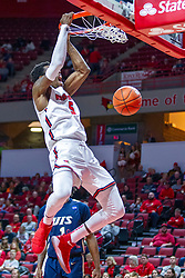 NORMAL, IL - November 29: Keith Fisher III during a college basketball game between the ISU Redbirds and the Prairie Stars of University of Illinois Springfield (UIS) on November 29 2019 at Redbird Arena in Normal, IL. (Photo by Alan Look)