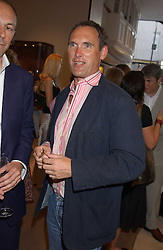 A A GILL at a party to celebrate the publication of iPod, Therefore I am by Dylan Jones held at Asprey, 169 New Bond Street, London W1 on 14th July 2005.<br />