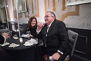 MEGAN ROSELL; JOHN CHARMBERRY; CHIEF OF PAW, Oklahoma(State(Society( Inaugural(Gala, KIpton Monaco Hotel, Washington DC. 19 January 2017