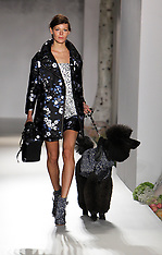 Mulberry show at London Fashion Week S/S 2013
