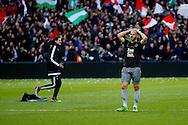 24-04-2016 VOETBAL: KNVB BEKERFINALE FEYENOORD-FC UTRECHT: ROTTERDAM <br /> <br /> Ruud Boymans van FC Utrecht teleurgesteld na afloop van de wedstrijd <br /> <br /> foto: Geert van Erven