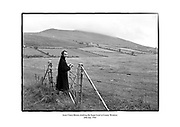 Actor Claire Bloom climbing the Sugar Loaf Mountain in County Wicklow.<br />