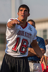 """16 August 2004    QB Yance Vaughan   """"Meet the Redbirds"""" evening at Illinois State University, Normal IL"""