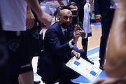 Buscaglia Maurizio<br /> Enel Brindisi - Dolomiti Energia Trento<br /> BASKET Serie A 2016 <br /> Brindisi 02/10/2016 <br /> FOTO CIAMILLO