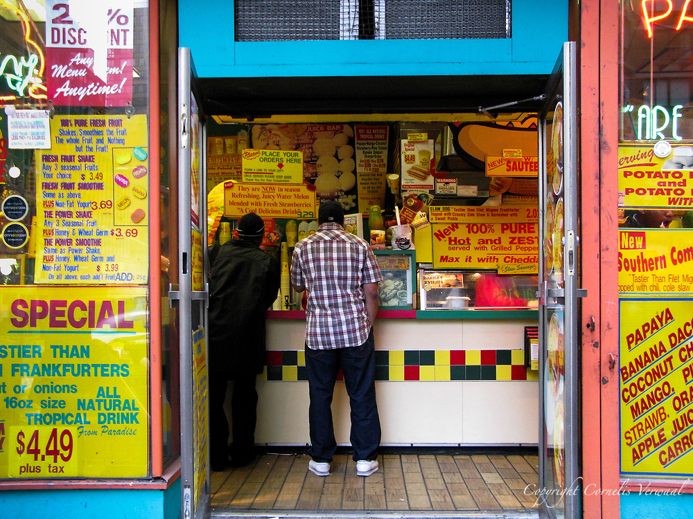 Papaya King on Third Avenue and 86th street