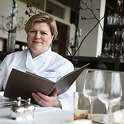Helena Puolakka, Executive Chef at the Skylon, Royal Festival Hall in London.